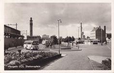 Hengelo: Het Stationsplein in de jaren 60