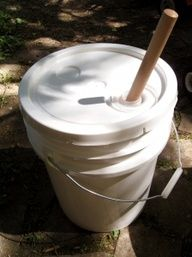 DIY Hillbilly Washing Machine, for camping or major power outages