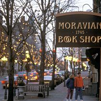 Moravian Book SHOP on Main. Common confusion, they may be the ...