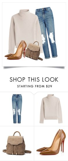 """""""Sans titre #48"""" by minii92 on Polyvore featuring mode, New Look, Vanessa Seward et Christian Louboutin"""