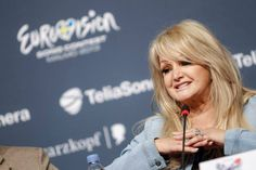 Bonnie Tyler at the press conference 15/05/2013  © Dennis Stachel (EBU)  http://www.eurovision.tv/page/multimedia/photos?gal=85763 #bonnietyler #eurovision  #gaynorsullivan #gaynorhopkins #thequeenbonnietyler #therockingqueen #rockingqueen #2013 #malmo #uk #unitedkingdom #music #rock