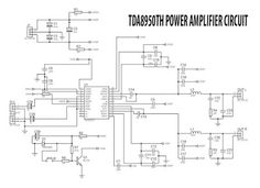 Power Amplifier circuit using IC for PWM controller and final transistor using N-Channel Mosfet. Output up to Mono, you can see the circuit schematic and PCB layout also tested amplifier here. Class D Amplifier, Stereo Amplifier, Circuit Diagram, Electronic Circuit, Design, Detail, Places, Circuits, Blue Prints