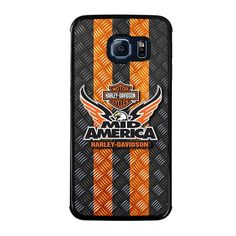 HARLEY DAVIDSON MID AMERICA Samsung Galaxy S6 Edge Case - Best Custom Phone Cover Cool Personalized Design – Favocase