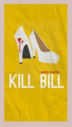 Kill Bill minimalist poster