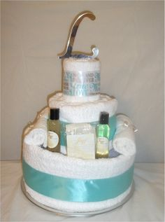 Wedding Cake Towel