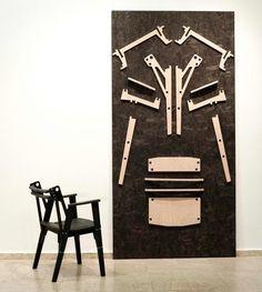 Подборка мебели (и креплений), созданной без единого гвоздя — на прорезях (боковых или с щелевым контуром), пазах, деревянных дюбелях