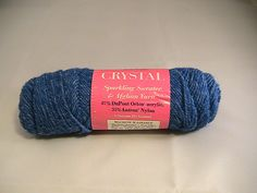 Ravelry: juliew8's Crystal Sparkling Yarn  Royal Blue