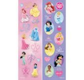 Disney Princess Dreams Sticker Strip 2 Sheets - Party City
