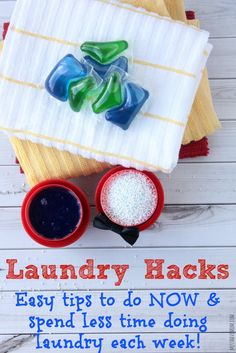 Easy Tips To Do NOW & Spend Less Time Doing Laundry