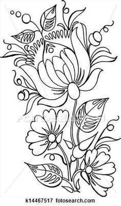 flowers View Large Clip Art Graphic