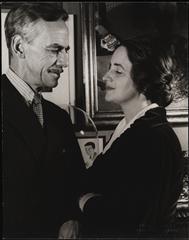 Eugene O'Neill with Carlotta Monterey O'Neill.
