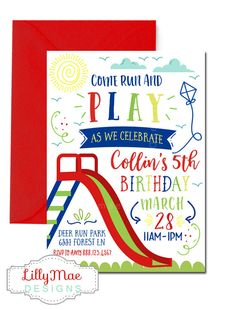 Playground birthday invitation park birthday invitation picnic park birthday invitation park party invitation playground birthday invitation digital boys park party party at the park boys park filmwisefo Gallery