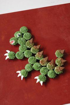 #Drache #Halloween #Cupcakes #Tortendekorieren #Dino