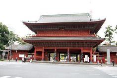 Sangedatsu Gate (Zojo-ji) 三解脱門 三縁山 広度院 増上寺 sangedatsu gate zojoji temple 寺 東京 tokyo