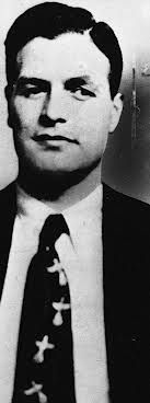 Charles (Chuckie) Nicoletti, aka 'The Typewriter', hit man for Giancana's Chicago Outfit, often worked with Milwaukee Phil Alderisio. Killed his own father when he was just 12. www.lberger.ca