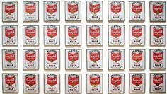 Andy Warhol, Campbell's Soup  1962 MOMA ,New York. #AndyWarhol, #Campbell'sSoup