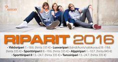 Riparit 2016 | Nuorten Maailma