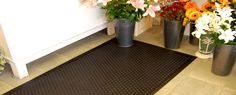 Kushion-Koil anti fatigue mats by Kleen-tex. Improve productivity with anti-fatigue mats for workstations. Improve Productivity, Health And Safety, Flooring, Wood Flooring, Floor, Floors