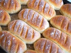 Thebaguetter Bread Recipes, Cooking Recipes, How To Cook Asparagus, Piece Of Bread, Baked Oatmeal, Fika, Hot Dog Buns, Hot Dogs, Baguette