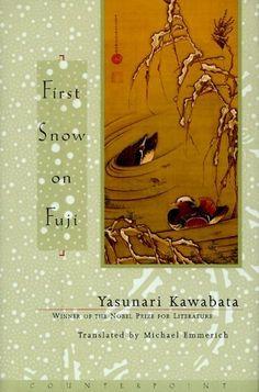 first snow on fuji by yasunari kawabata