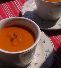 Sültpaprika-krémleves