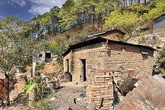 Mosaico Lineal casas de adobe, Jutiapa