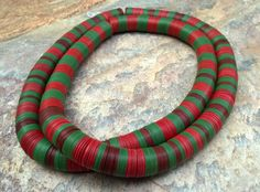 African Vinyl Vulcanite Disc Beads 38.5 by RedEarthBeads on Etsy, $35.00