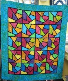 Stained Glass Quilt - Quilters Club of America