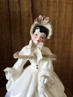 Florence Ceramics Abigail Figurine in an Ivory by AtticLovelies