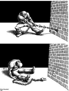 X Mana Neyestani Satire, Psychological Manipulation, Persian Language, Meaningful Pictures, Satirical Illustrations, Deep Art, Love Images, Urban Art, Thought Provoking