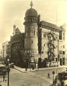 THEATER: The Casino Theatre at Broadway  39th Street, where Evelyn Nesbit made her stage debut.