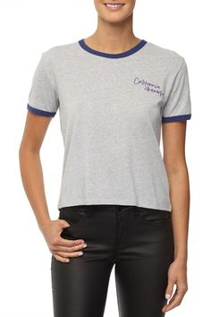 ff32b5b38 Cotton On Women - tbar winnie ringer tee - Cali dreamin/grey marle - Was  And Now - online shopping with discounted prices