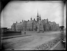 Christchurch Normal School, Christchurch Normal School, Photographic Studio, Canterbury, New Zealand, The Past, Street View, Spaces, Travel, Viajes