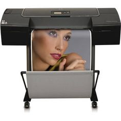 "HP / Hewlett Packard HP Designjet Z2100 24"" Photo Printer"