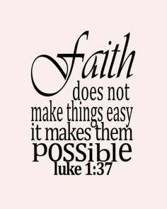 about faith -