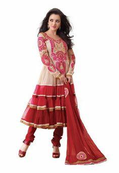 Fabdeal Indian Designer Net Red Embroidered Salwar kameez Fabdeal, http://www.amazon.co.uk/dp/B00INWQF0Q/ref=cm_sw_r_pi_dp_k1Nntb02CNZKY