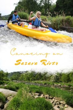 Canoe along the beautiful river of Sazava (Czech Republic) with the help of a professional instructor Little Cabin, Discount Travel, Tour Guide, Czech Republic, Canoe, Tours, River, Beautiful, Travel Guide