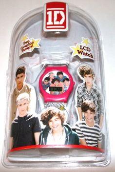 One Direction Digital LCD Watch One Direction Merch, Take Money, Teen Kids, Don't Judge, Fan, Watch, Digital, Clock, Bracelet Watch