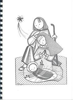 RODRIMAN ..... LRM --------------- Patrones comprados , regalados en encuentros y bajados de Internet . Christmas Nativity, Christmas Themes, Bobbin Lace Patterns, Lace Heart, Lace Jewelry, Lace Making, Lace Detail, Diy And Crafts, Xmas