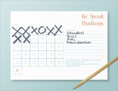 burymewithmyplanner: No Spend Challenge printable! I found this idea on instagram and it's quite nice. 31 days of challenge for spending less and save a bit more money. Decide beforehand what your exceptions are, but be honest with yourself, list ONLY those things you really need and can't avoid!! download it here at my printable page (scroll down to find it, they are becoming quite a bit!) Oh, and I uploaded a few more planners on my etsy shop (including a new version of the student…