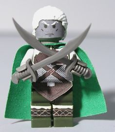 Drizzt Lego Version (Forgotten Realms series) they have a Lego version!! I must have this.