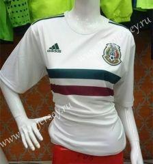 Women Mexico National Team 2017 Away White Soccer Jersey a972d58d96