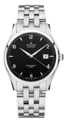 Edox Men's 80087 3 NIN WRC Automatic Black Dial Stainless Steel Bracelet Date Watch. Product details http://astore.amazon.com/usxproducts-20/detail/B007ZYUFW2