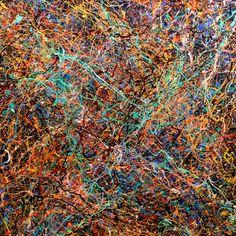 "Saatchi Online Artist Tehos Frederic CAMILLERI; Painting, ""Abstraction P419"" #art"