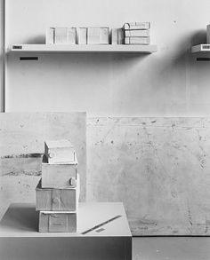 Rachel Whiteread's studio