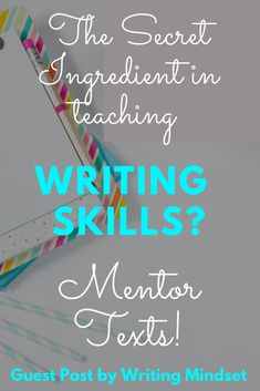The Secret Ingredient in Teaching Writing Skills? Guest Post - Writing Up Dreams Writing Lessons, Kids Writing, Teaching Writing, Writing Skills, Teaching Tips, Argumentative Writing, Persuasive Essays, Informational Writing, Essay Writer