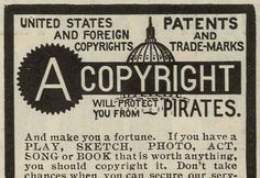 Copyright Protects from Pirates