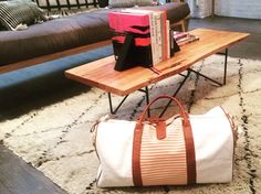 Your luggage will look so good in their home, they'll beg you to stay. #travelchic #duffle #miscere