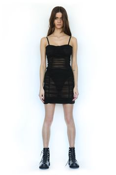 THURMAN DRESS - BLACK