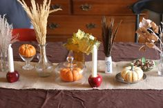 Beautifully Rooted:  let the children decorate the Thanksgiving table tradition.  Using items found in nature, gathered over the month.  Then let them arrange the setting.